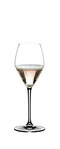 Riedel SST (SEE, SMELL, TASTE) Rosé Champagne/Rosé Wine Glass, Set of 2, Clear - 4442/55