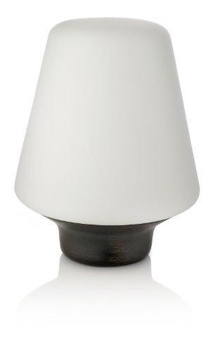 Philips 408027416 Lampe à Poser Wellness en Bois/Verre