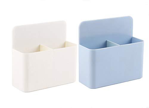 Afinder 2 Stücke Magnetischer Stiftehalter Magnetisch Markerhalter Magnet Ablage Whiteboard Stiftköcher Stiftebox Magnetstifthalter Aufbewahrungbox zubehör Organizer Halter für Küche Büro