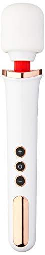 Massageador Varinha Mágica Gigante USB Bateria para Dores Musculares Relaxamento Pescoço Massagem Pescoço Coluna Pés Costas Vibração Potente 9000 Rpm Magic Wand Turbo Luxo