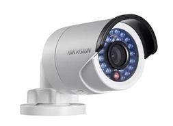 Hikvision DS-2CD2020FIW(4mm)-Cámara IP Bullet de exteriores, de 2 Mpx, lentes fijas