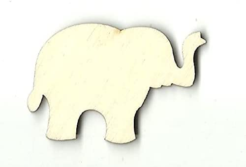 No Hole Elephant - Laser Cut Wood Out Manufacturer direct delivery Unfinished Max 61% OFF Sup Shape Craft