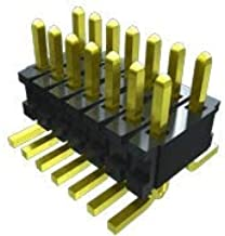 FTR-110-03-G-D-LC-06, Board-to-Board Connector - 1.27 mm - 20 Contacts - Header - Surface Mount - 2 Rows. (10 Items)