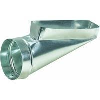 Galvanized End Boot by Imperial Manufacturing Group
