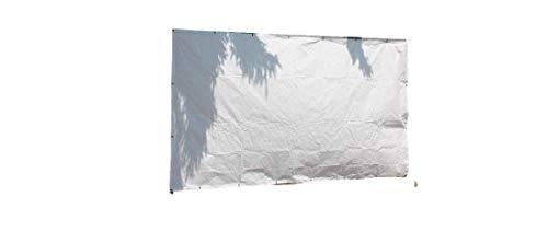 Jehaplan 10 Stück Bauzaunplane 1,76 x 3,41m 160g/m² weiß