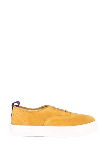 Eytys Luxury Fashion Herren MSMI014 Gelb Leder Sneakers | Jahreszeit Outlet