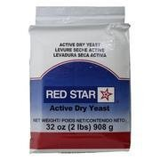 Red Star Baking Yeast Vacuum Packed 2 Pounds 32 ounces - 908 g - Pack Of 1