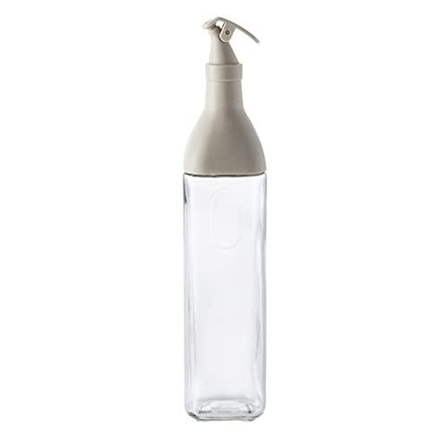 Xingying Botellas dispensadoras de aceite, de cristal, versátiles, seguras, para cocina, aceite de oliva
