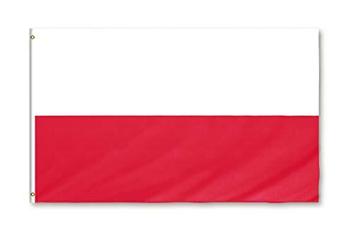 Star Cluster 90 x 150 cm Flagge Polens/Polen Fahne/Flaga Polski/Flag of Poland (PL 90 x 150 cm)