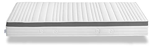 XDREAM Air 1000 Gelactive I orthopädische 7-Zonen Tonnentaschenfederkernmatratze mit hochwertiger Gelactive-Auflage I Härtegrad 3 I 140 x 200 cm