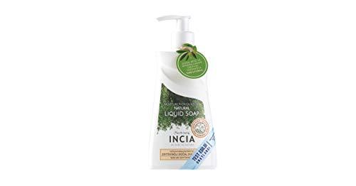 INCIA Moisturising Natural Liquid Soap. Coconut Oil, Olive Oil and Vitamin Rich Hand Wash Perfect For Sensitive Skin 250 ml