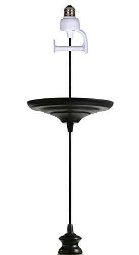 Instant Pendant Recessed Light Conversion Kit - Antique Bronze Adapter Only w/Contoured Lamp Cup