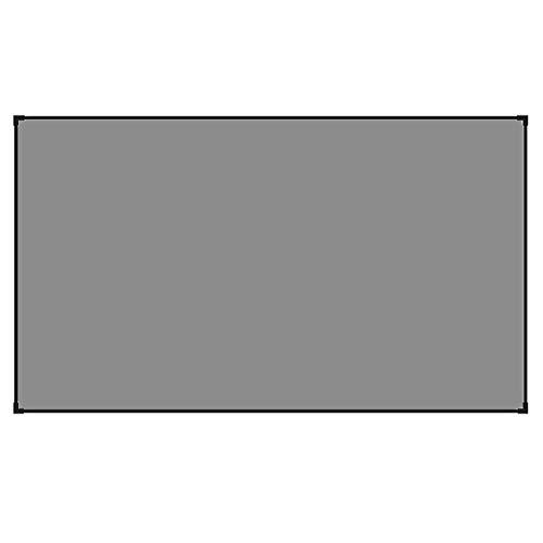 XYSQWZ Pantalla De Proyector Alr Que Rechaza La Luz Ambiental 80'90' 100'120' Marco De Borde Ultrafino El Mejor Diseño para Cortina De Proyección Ust (tamaño: 120 Pulgadas)