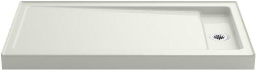 Best Price KOHLER K-9164-NY Bellwether 60-Inch x 32-Inch Single-Threshold Shower Base with Right Cen...