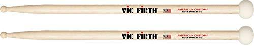 Vic Firth American Custom SD12 Swizzle General - Baquetas, Punta de Madera y Maza de Fieltro Duro