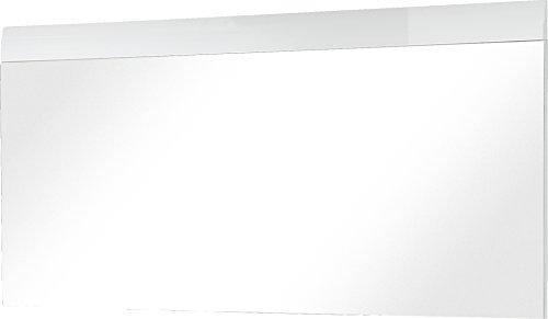 Germania GW-Adana Miroir 3515, Bois, Blanc, 134 x 63 x 3 cm
