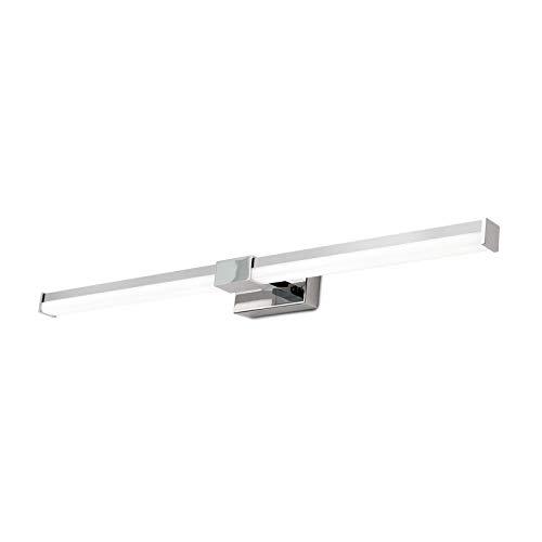 Lampada LED per specchio, cromata, 55 cm, 840 lm, IP44