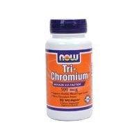NOW Foods Tri-Chromium 500mcg/Cinnamon