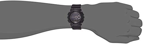 Casio Men's GD100-1BCR G-Shock X-Large Black Multi-Functional Digital Sport Watch