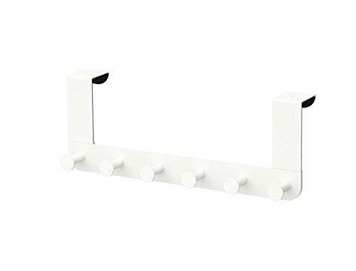 IKEA ENUDDEN Perchero para puerta ganchos metal blanco Robe Toalla Cinturones