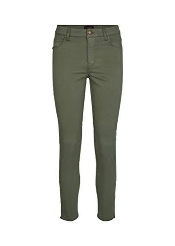 SOYACONCEPT - Damen Hose mit Reißverschlussdetails am Beinabschluss, Sc-Shadi Ps Patrizia 3-B (16403), Größe:36, Farbe:Olive (7870)