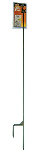 HME Products Trail Camera Holder- Post Olive, 2.00 x 5.00 x 37.00