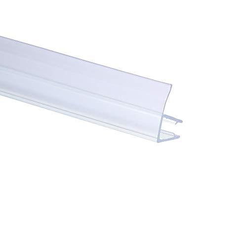 Duschdichtung PVC Ersatzdichtung TYP-4 200cm Glasstärke 8mm Gummilippe 15mm