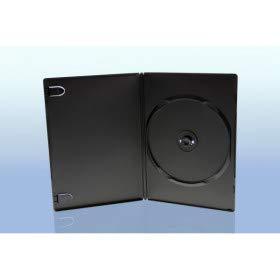 Prodye FlexBox Boitiers DVD, Slim 7 mm, Machine-Pack-Quality, Noir, 100 pièces