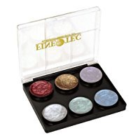 Coliro Artist Mica Watercolor Paint 6 Color Set, M600S Pearl and Shimmer Pearl Colors
