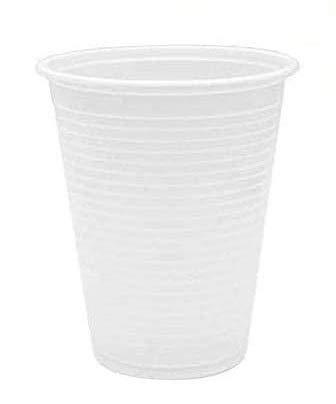 Palucart® Bicchieri Bianchi di plastica Rigida per consumo Acqua 200cc 15cf 1500pz