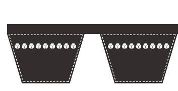 Lawn Mower Deck Band Belt 5/8