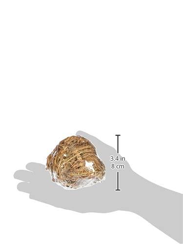 Trixie Gras Ball mit Glocke, 6cm - 4