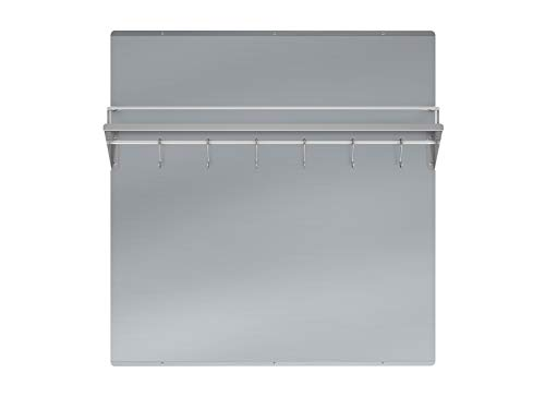 Ancona PBS-1232 30 in. Stainless Steel Backsplash with Shelf and Rack