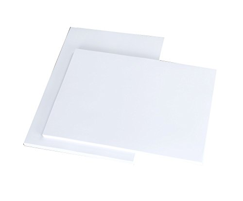 House of & Papier A5300gsm Karte–Weiß (Packung 50Blatt)