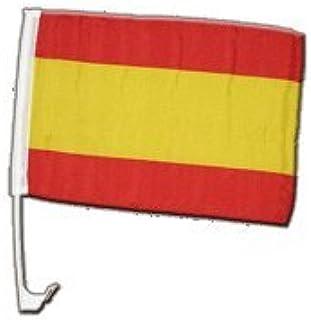 Digni España sin escudo de armas bandera del coche – 12 x 16 inch: Amazon.es: Deportes y aire libre