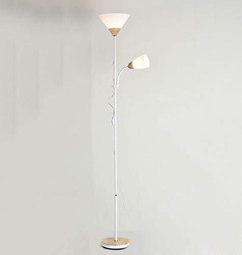 lampadaire Lampadaire, Lampadaire Vertical, Lampadaire, 2 Têtes, Salon Salle À Manger Étude Chambre