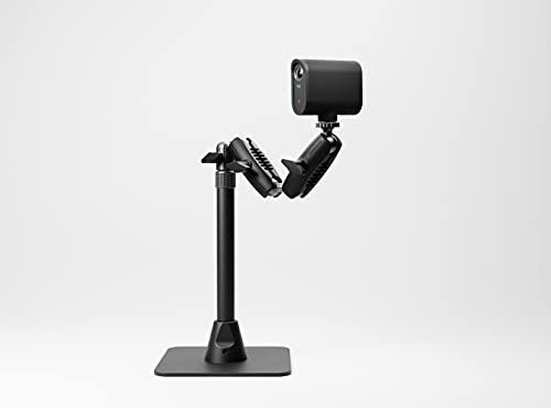 Mevo - Support de Table : Support de Bureau lesté télescopique et réglable pour Les caméras Mevo, Noir MV3-11A-BL