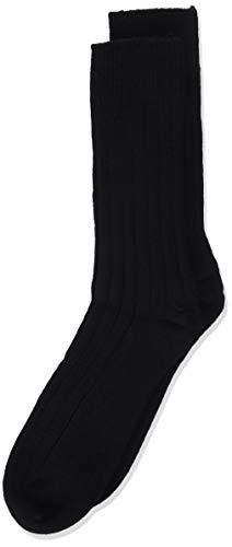 DIM Laine & cashmere Calcetines cortos, Hombre, Negro, 43/46 (Tamaño del fabricante:43/46)