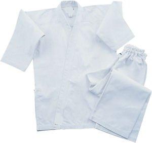 Bold Middleweight 7.5 oz Traditional Karate Uniform - White Size 5