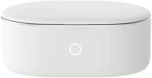 HYLL 191 * 117 * 78mm Ultraschall-Reinigungsmaschine 304 Edelstahl-Liner ABS-Schale kleine Haushaltskontaktlinse Uhr Schmuck Brille Zahnspange Schmuck Reinigungsmaschine warm grau