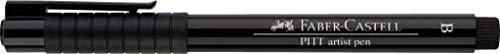 Faber-Castell 167499 - Rotulador de punta fina, color negro