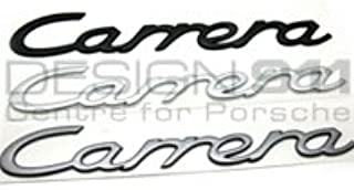 GENUINE PORSCHE 997 CARRERA 4S SILVER BADGE EMBLEM NEW