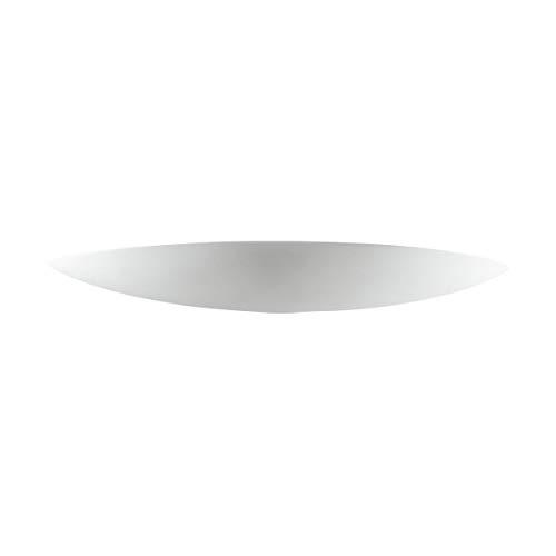 Austrolux 219.61.1 A Applique Murale Céramique Blanc 60 x 15 x 6 cm