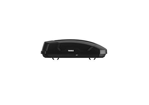 Thule 635100 Dachboxen Force XT S Black Aeroskin, Schwarz