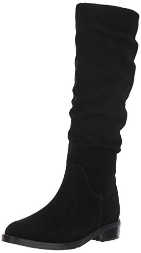 Blondo Women's Erika Waterproof Fashion Boot, Black Suede, 6.5 M US