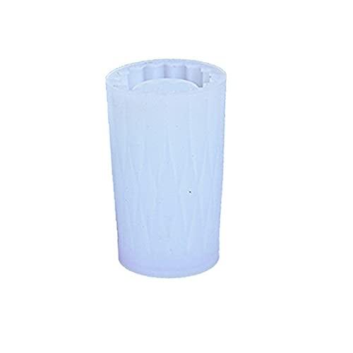 genenic Molde de silicona para jarrones de bricolaje de resina epoxi de...