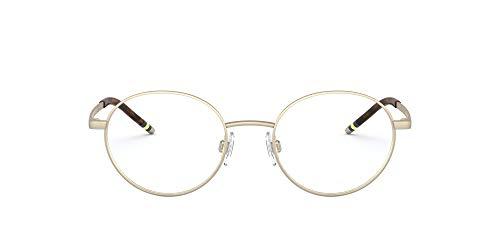 Polo Ralph Lauren PH-1193 9116 - Gafas de sol (metal), color dorado mate