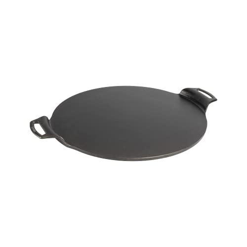 Lodge BW15PP 15 Inch Seasoned Cast Iron Pizza Pan, Black