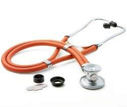 McKesson Sprague Stethoscope, Orange Tube, 22 inch 641NOMM, 1 Ct