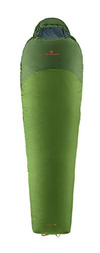 Ferrino 86601HVVS.1SIZ Sac de Couchage pour Camping et Trekking, Levity 01 Sx Green, Adultes, Unisexe, Multicolore, Taille Unique